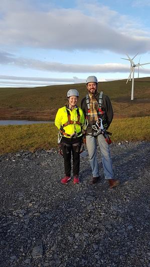 Rachael Hunter and Paul Phare - Energy4All Development Managers
